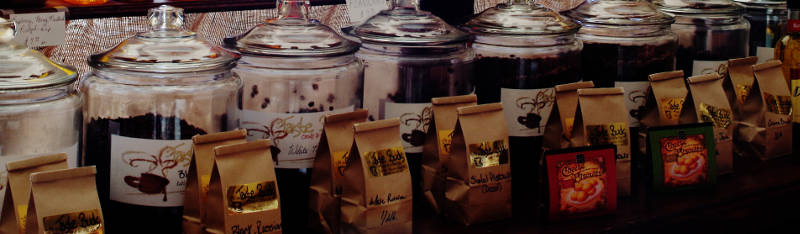 coffee in jars